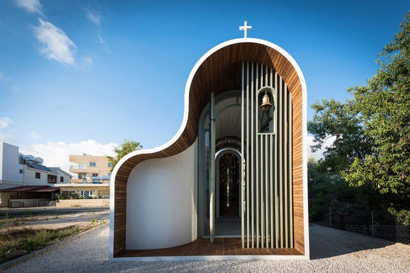 часовня в греции современная архитектура
