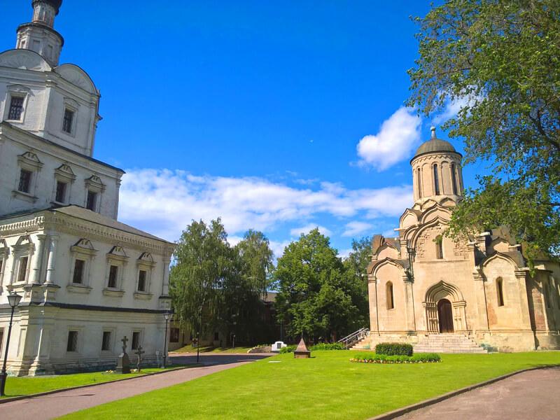 Спасо-Андронников монастырь в Москве фото