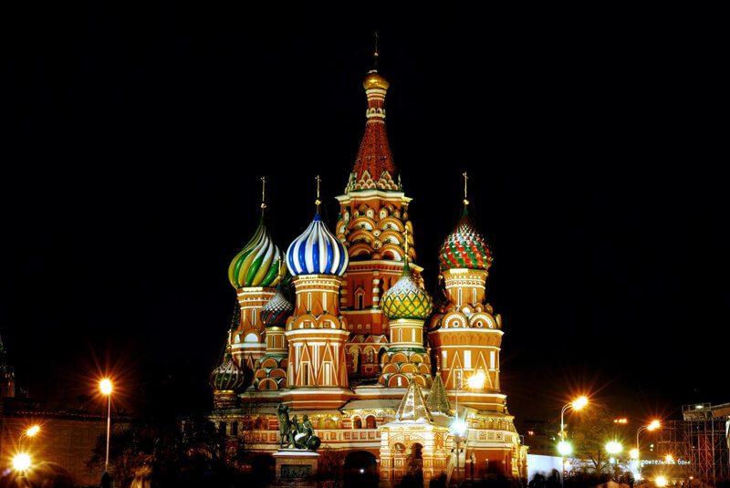 Собор Василия Блаженного на Красной площади, Москва, фото
