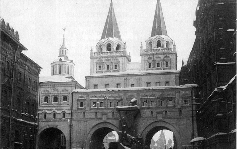 Часовня в честь Иверской иконы Божией Матери на Красной площади, Москва