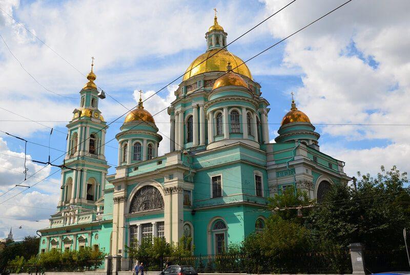 Елоховский собор, фото. Богоявленский собор в Елохове.