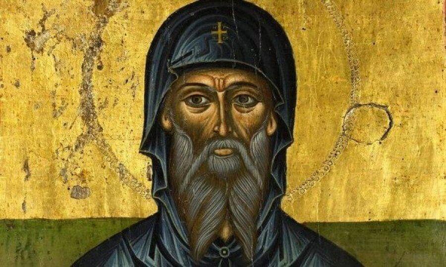 преподобоный Антоний Великий, икона