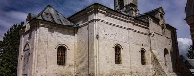 Можайск, старый храм Иоакима и Анны Якиманского монастыря, 14 век