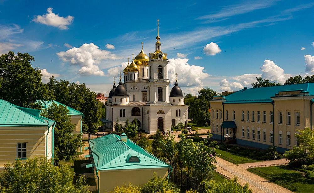Дмитровскиий кремль, Успенский собор, фото
