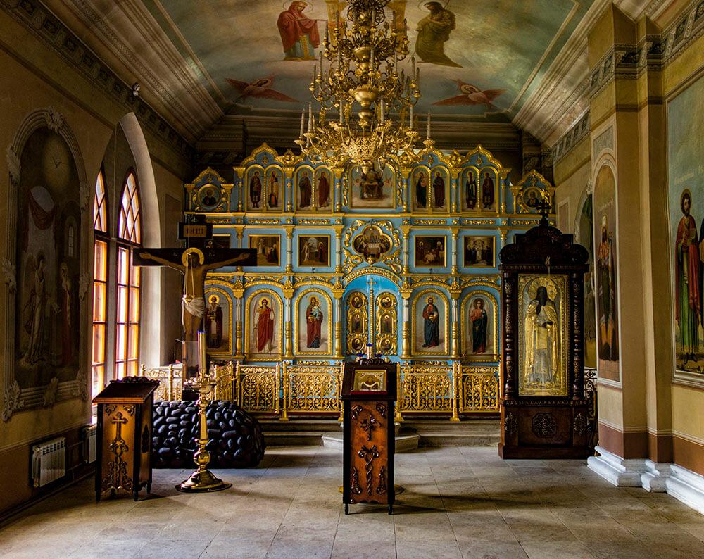 Успенский собор, Дмитров, алтарь, фото