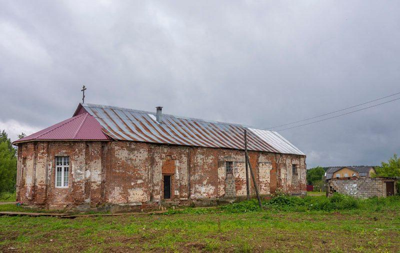 Храм Иоанна Предтечи в Новогуслево