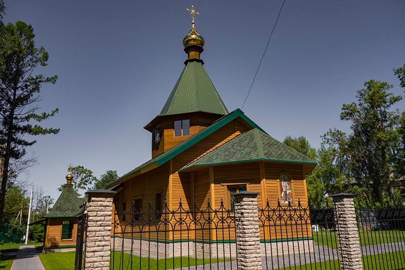 Храм в Вербилках, фото