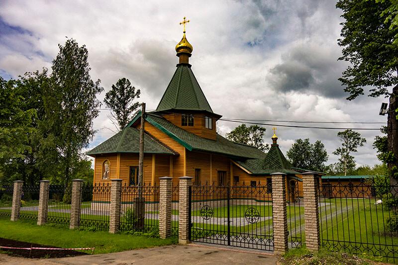 Храм святого Александра Невского в Вербилках, фото