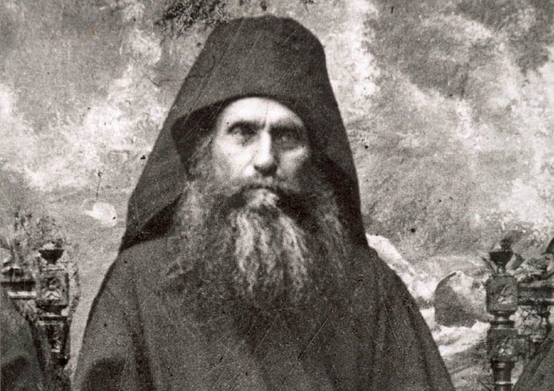 Преподобный старец Силуан Афонский, фотография