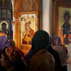 Икона Достойно есть, Троицкое Подворье, фото