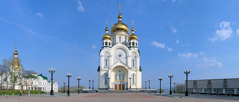 Собор в Хабаровске, фото, Спасо-Преображенский.