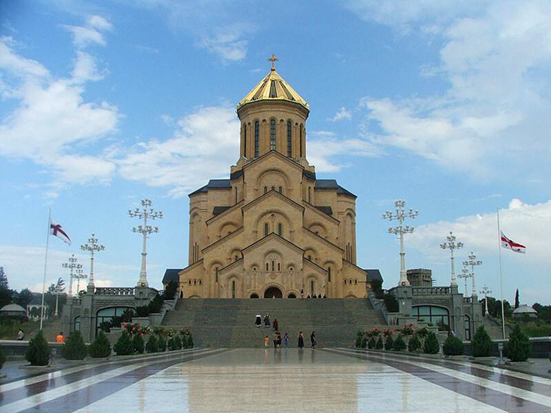 Собор в Тбилиси, Цминда Самеба, фото