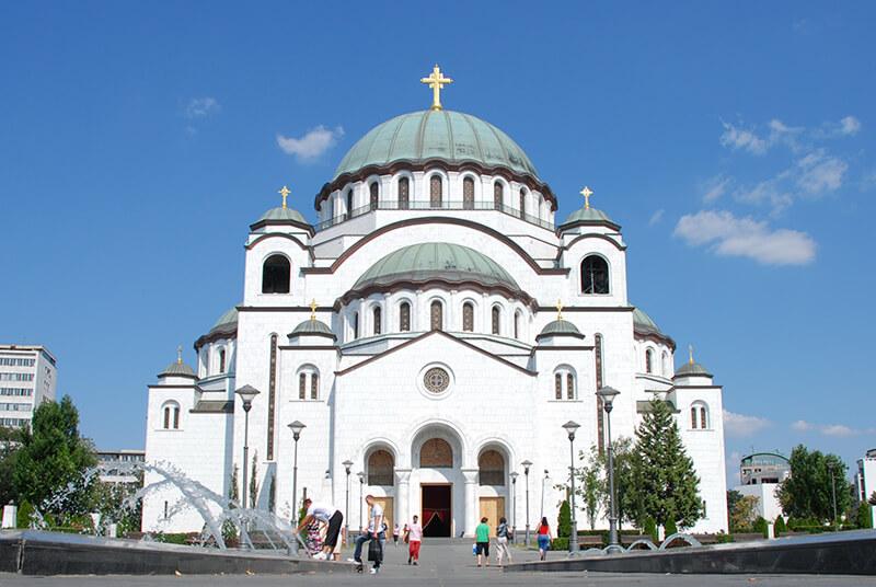 Собор святителя Саввы в Белграде, фото