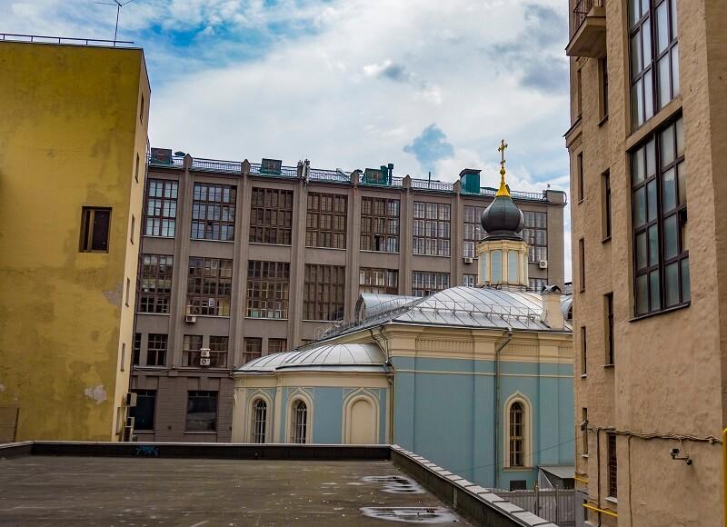 Храм Успения Богородицы в Газетном переулке