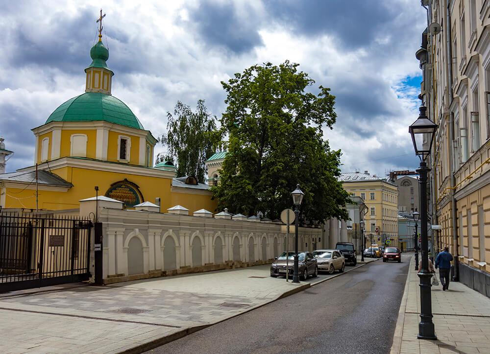 Храм святителя Николая в Старом Ваганькове, Староваганьковский переулок, фото
