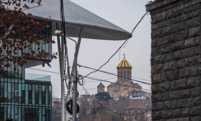 самый большой собор в Тбилиси
