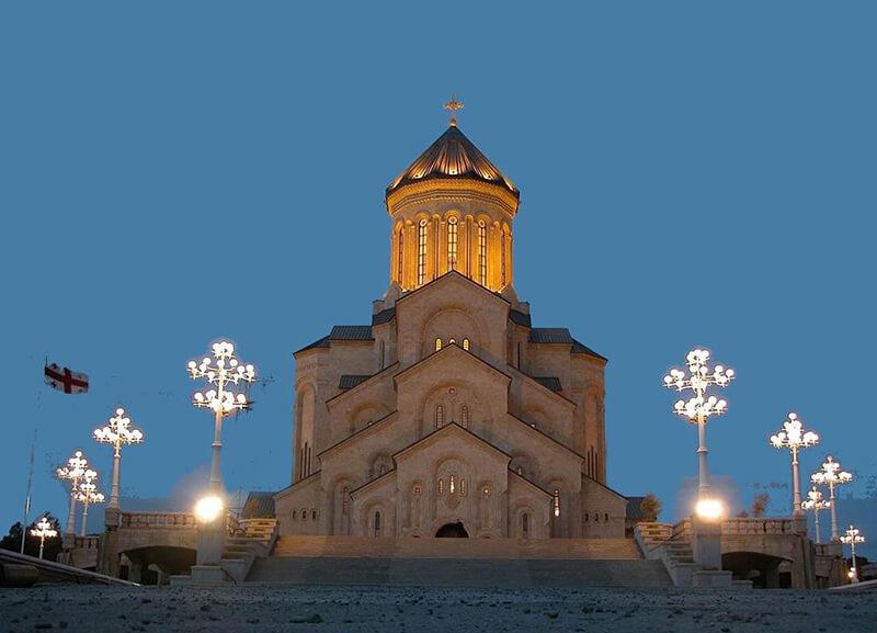 Собор в Тбилиси, фото, Цминда Самеба