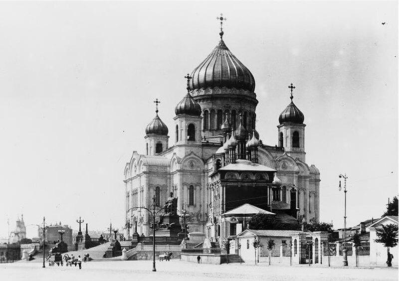 Храм Христа Спасителя до разрушения, фото