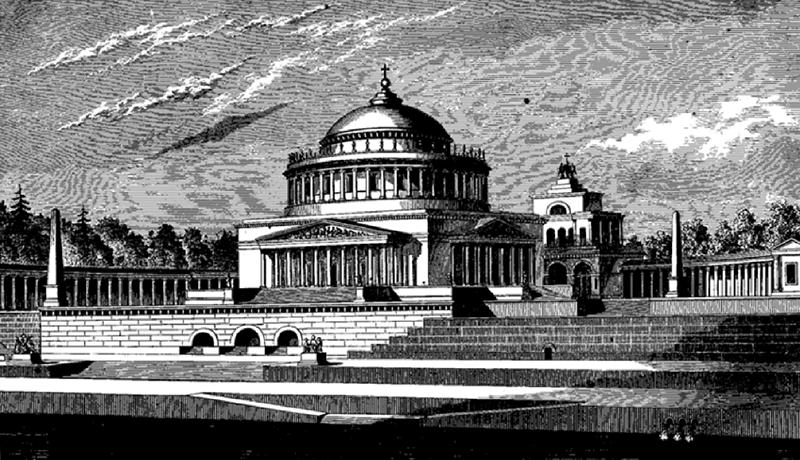Первый храм Христа Спасителя, 19 век