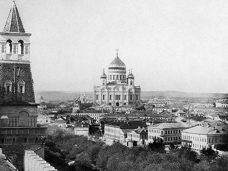 Храм Христа Спасителя, фото до разрушения