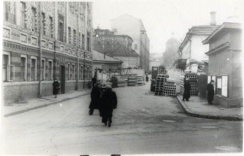Крапивенской переулок, советское время