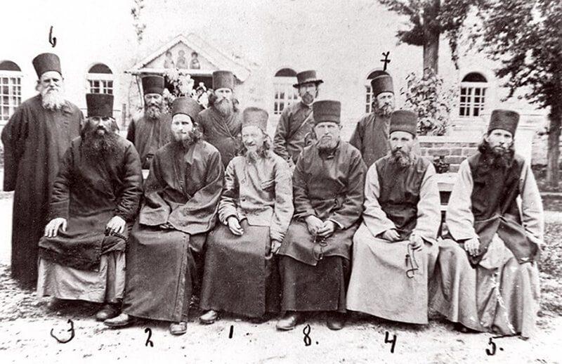 Афонские монахи, преподобный Силуан Афонский
