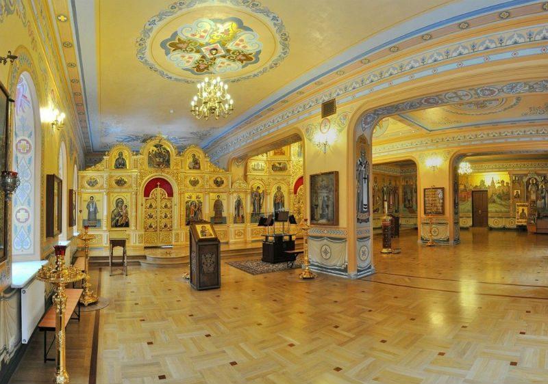 Домовый храм всех Святителей Московских при Московском Подворье Свято-Троицкой Сергиевой Лавры.