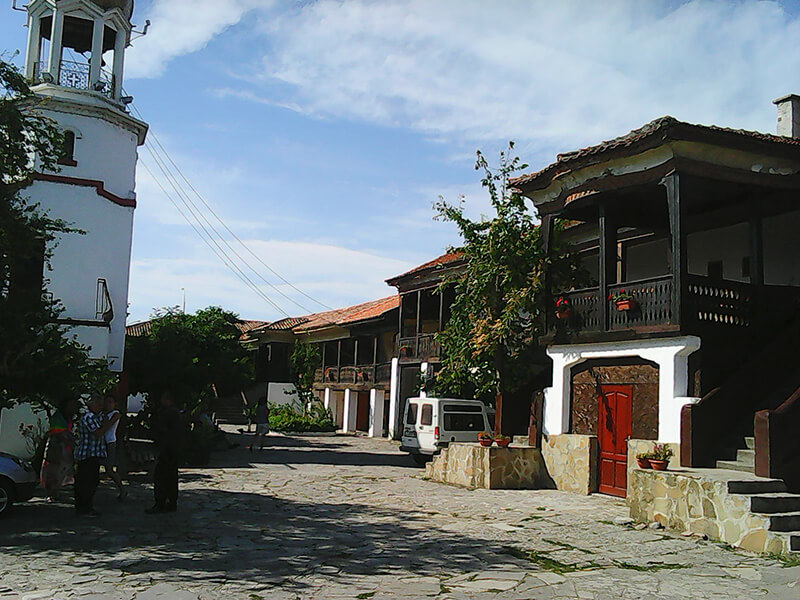 Монастырь в Болгарии.