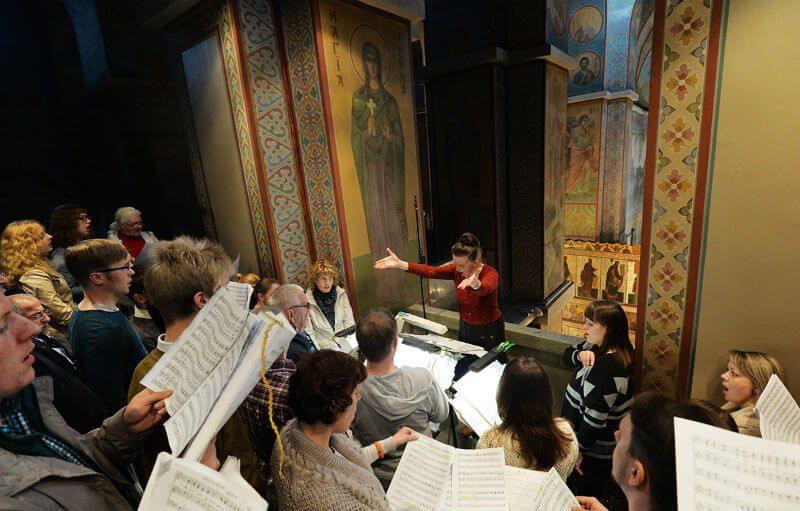 клирос в православном храме