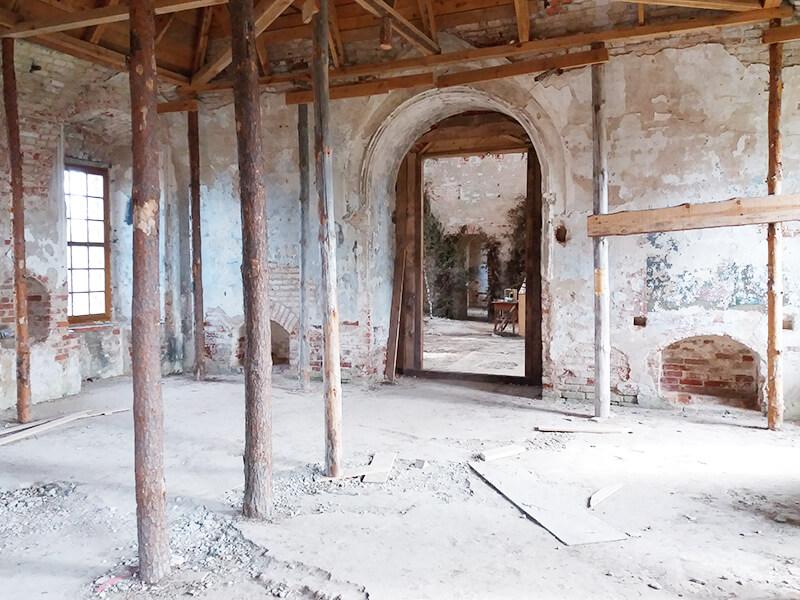 Разрушенная церковь, Никола-Ленивец