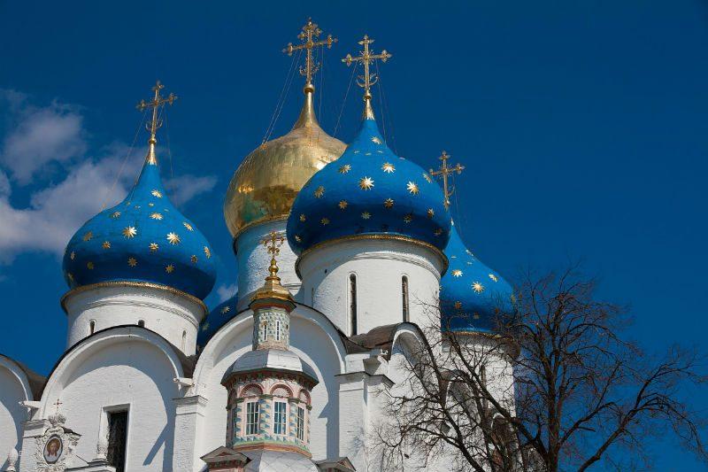 Цвета куполов православных храмов и их значение