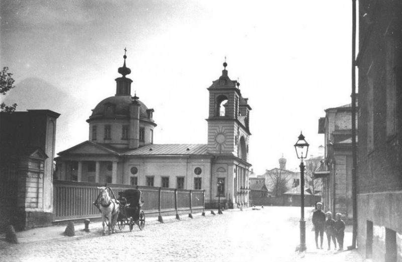 Храм Успения на Могильцах, 1914 год