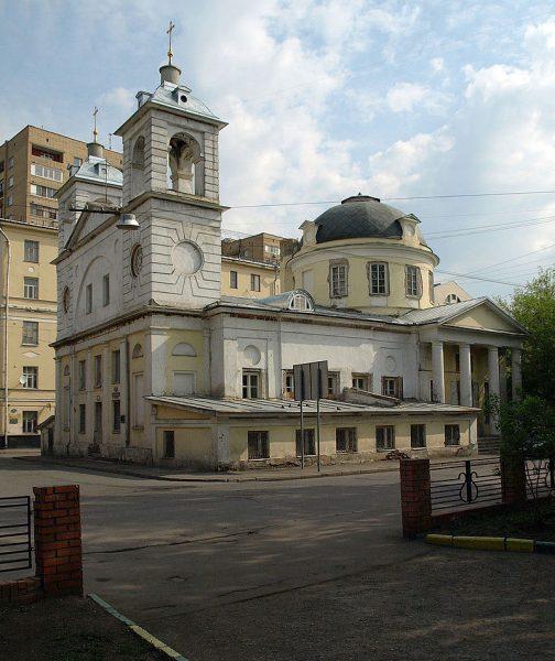 Храм Успения на Могильцах, перед восстановлением