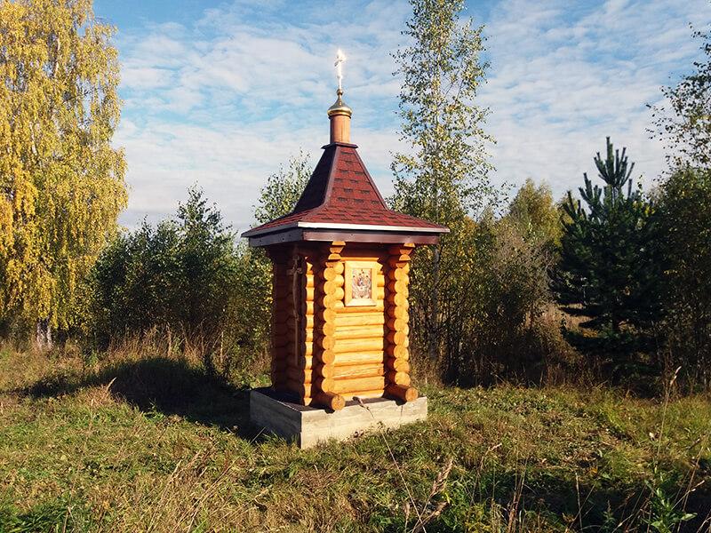 часовня в деревне Алексеевское