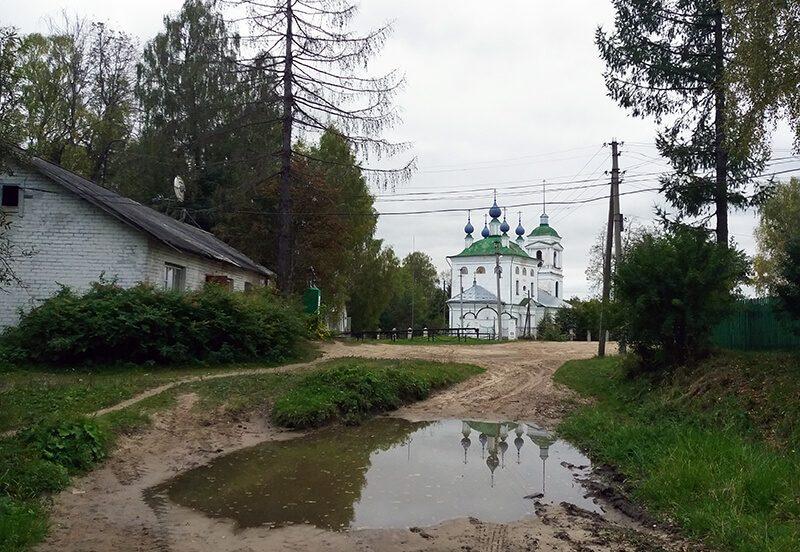 Храм в селе Коткишево