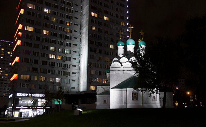 церковь на новом арбате