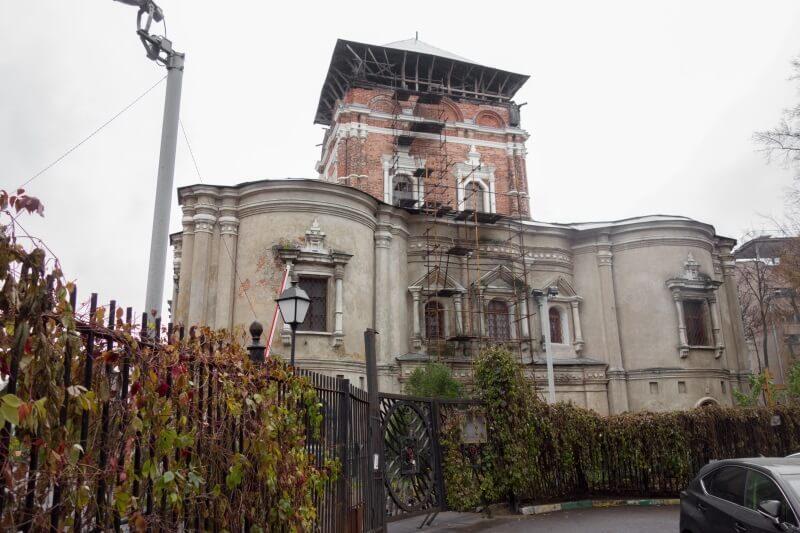 Храм Тихвинской иконы Божией Матери, Симонов монастырь, Москва, фото