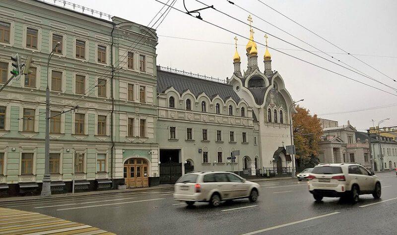 Подворье Дивеевого монастырья в Москве
