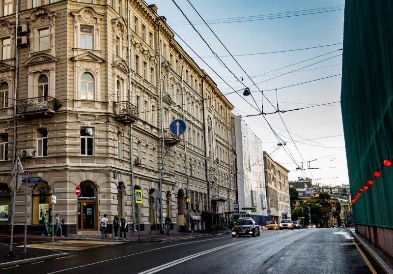 Остоженка, Москва, наши дни