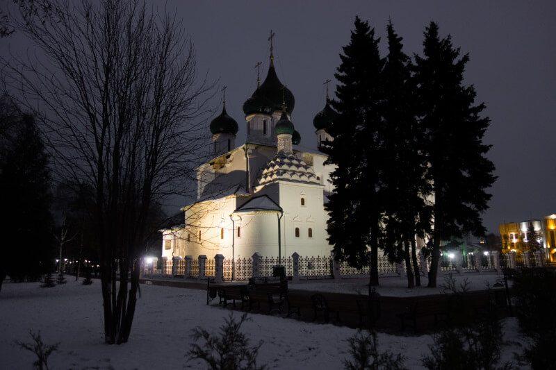 Ильинская церковь в Ярославле, фото