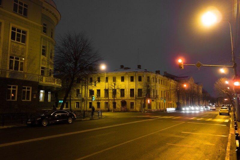 Улица Трефолева в Ярославле