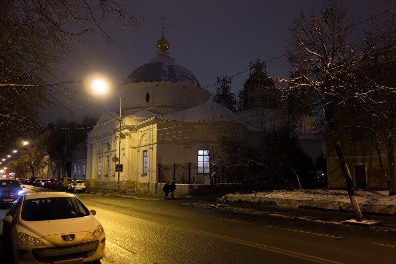 Покровский храм Казанского монастыря
