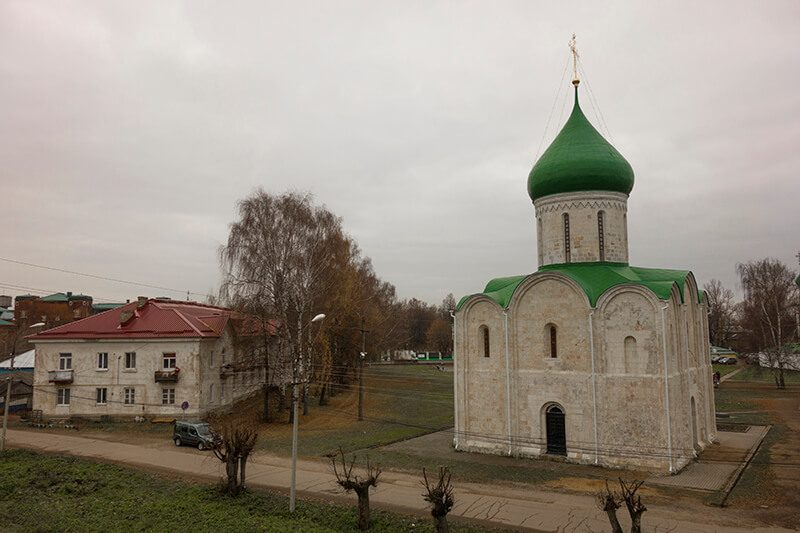 Старый храм в Переславле Залесском, фото
