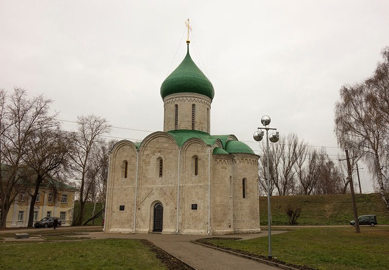 Спасо-Преображенский собор в Переславле-Залесском, фото