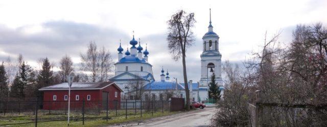 Церковь в селе Селихово