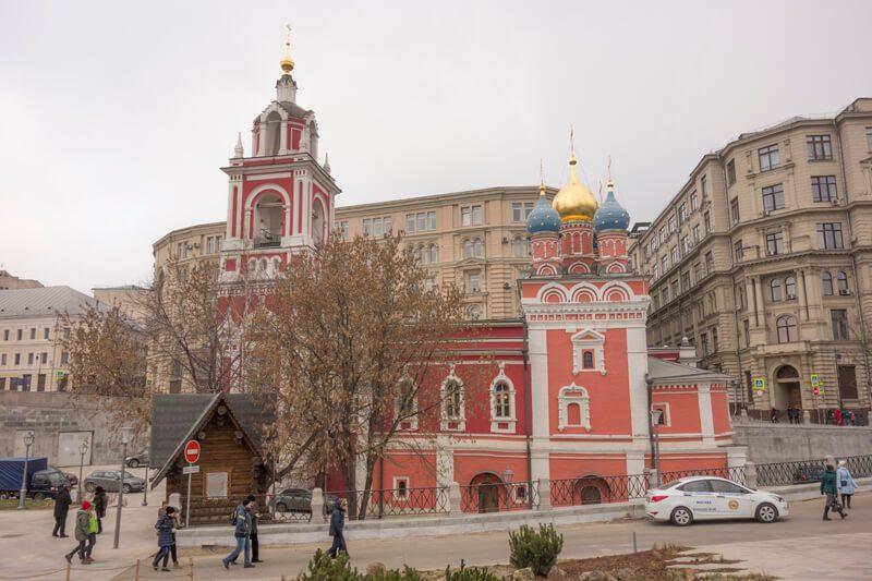 Храм Георгия Победоносца, Зарядье