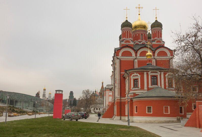 Знаменский собор, Зарядье