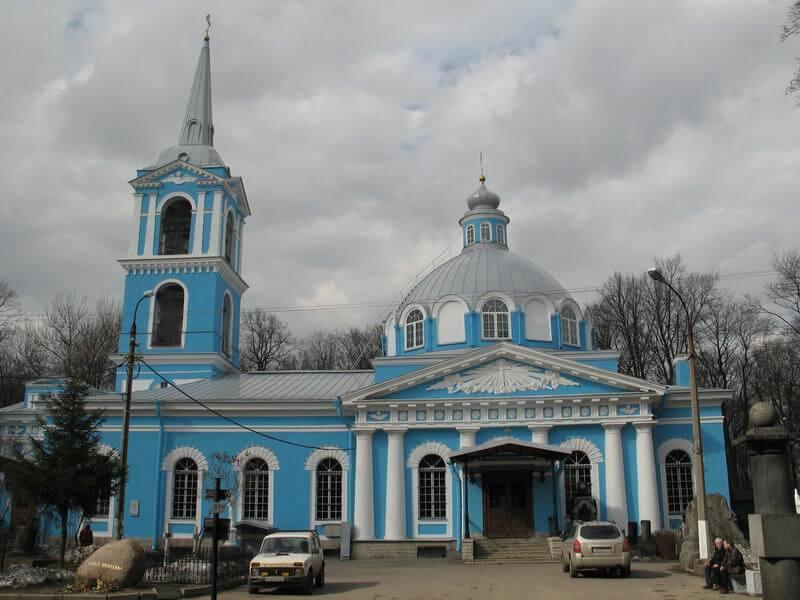 церковь на Смоленском кладбище