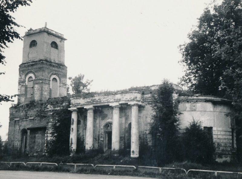 Село Новоникольское, храм, СССР