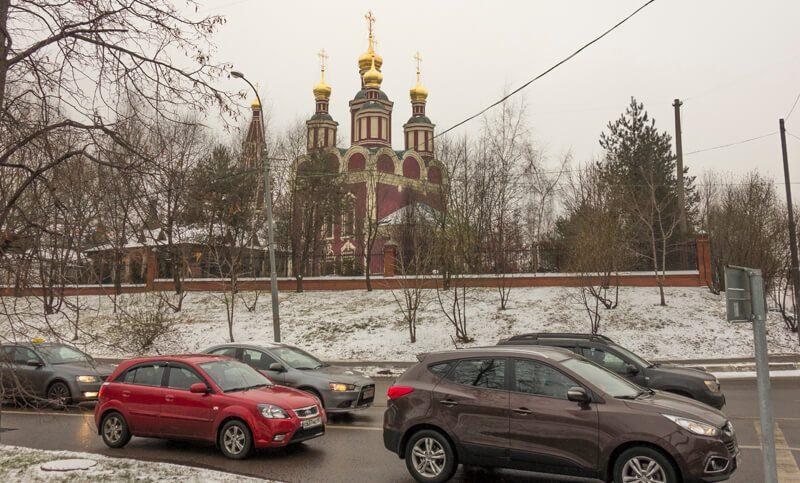 храм Михаила Архангела в Тропарево
